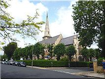 TQ2374 : Putney:  St. John's Church by Dr Neil Clifton