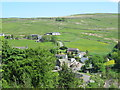 NY7843 : View of Nenthead from the road to Garrigill by Mike Quinn