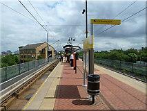 SJ8196 : Pomona Metrolink Station by Graham Hogg