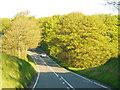 SX1687 : The A395 near Tremblary Cottage by Ian S