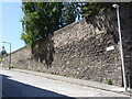 NT2673 : The Flodden Wall, Drummond Street by Alan Murray-Rust