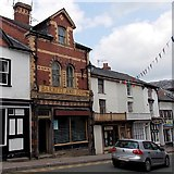 SO2956 : Old-style shop front, Church Street, Kington by Jaggery