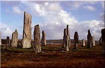 NB2133 : Standing stones of Calanais by Russel Wills