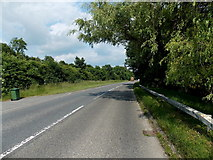SO2956 : A view east along the Kington bypass by Jaggery