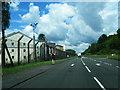 NS2487 : A814 alongside Faslane Base by Colin Pyle