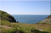 SS7049 : The view over Wringcliff Bay by Steve Daniels