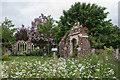 TQ3499 : Old Manor House Garden, Capel Manor, Enfield by Christine Matthews