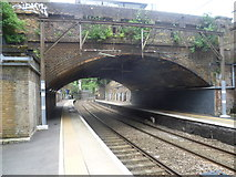 TQ3386 : Stoke Newington station by Marathon