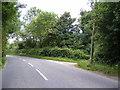 TM3377 : B1123 Halesworth Road, Linstead Parva by Adrian Cable