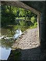 NT0776 : Craigton canal bridge - towpath by Alan Murray-Rust