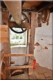 TM1678 : Billingford Mill - Sack hoist by Ashley Dace