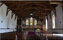 TQ7035 : Interior, Christ church, Kilndown by Julian P Guffogg