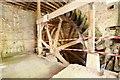 TM0144 : Kersey Mill Complex - Mill wheel by Ashley Dace