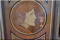 TQ7035 : St John on the Bedgebury Panels by Julian P Guffogg