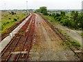 NZ2557 : Lifted railway lines by Alex McGregor
