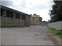 SE8067 : A glimpse of Langton Hall by Pauline E