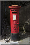 HU4741 : 'Snail mail', Commercial Street, Lerwick by Mike Pennington