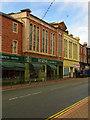 NY0336 : Curzon Street shops, Maryport by Julian Osley
