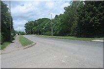 SU6553 : View along Wade Road by Sandy B