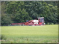 TM4079 : Crop Spraying off Scalesbrook Lane by Adrian Cable