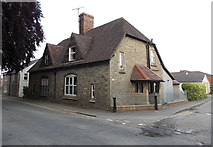 SO2956 : House on the corner of Duke Street and Love Lane, Kington by Jaggery