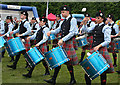 NJ0458 : European Pipe Band Championships 2013 (18) by Anne Burgess