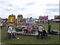 TQ7668 : Circus attractions, Great Lines Heritage Park by David Anstiss
