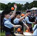 NJ0458 : European Pipe Band Championships 2013 (26) by Anne Burgess