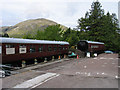 NM8980 : Alternative uses for railway coaches at Glenfinnan by Trevor Littlewood