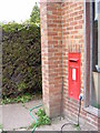 TM3883 : Halesworth Post Office George VI Postbox by Adrian Cable