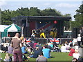 TQ7668 : Main Stage, Armed Forces Day by David Anstiss