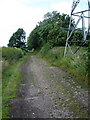 SP7426 : Track along course of old railway by Philip Jeffrey