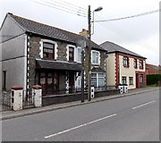 ST1599 : Houses at the northern end of Pengam Road Aberbargoed by Jaggery