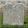 SU8003 : War Memorial stone, Holy Trinity, Bosham by Rob Farrow