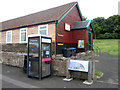 NT9561 : Phone box in Upper Burnmouth by Graham Robson