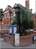 TQ2284 : Willesden Green Police Station, High Road NW10 by Robin Sones
