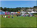 SH8075 : Gala day at Glan Conwy school (3) by Richard Hoare