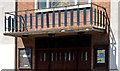 J3374 : Balcony, St Stephen's, Millfield, Belfast by Albert Bridge