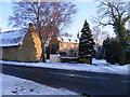 TF1505 : Peakirk Road, Glinton, in the winter by Paul Bryan