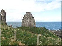 NS2515 : Dovecot at Dunure Castle by Ann Cook