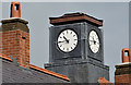 J3574 : Clock, Templemore Avenue, Belfast by Albert Bridge
