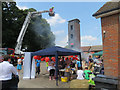 SP9211 : The Rear Yard at Tring Fire Station on Open Day by Chris Reynolds