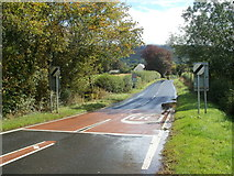SO1327 : End of the 30mph zone at the edge of Llangors by Jaggery