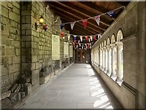 NS4863 : Paisley Abbey: the cloisters by Lairich Rig