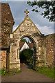 TQ2149 : Gateway, St Michael's Church by Ian Capper