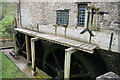 SS9943 : Dunster Watermill - the wheels by Chris Allen