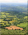 SO2135 : Cwm-bach, and the view north-west from near Lord Hereford's Knob by Hugh Chevallier