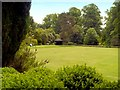 NZ0878 : Croquet Lawn, Belsay Hall and Gardens by David Dixon