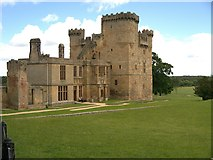 NZ0878 : Belsay Castle by David Dixon