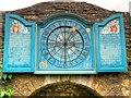SP0933 : 24hr Clock, Snowshill Manor Garden by David Dixon